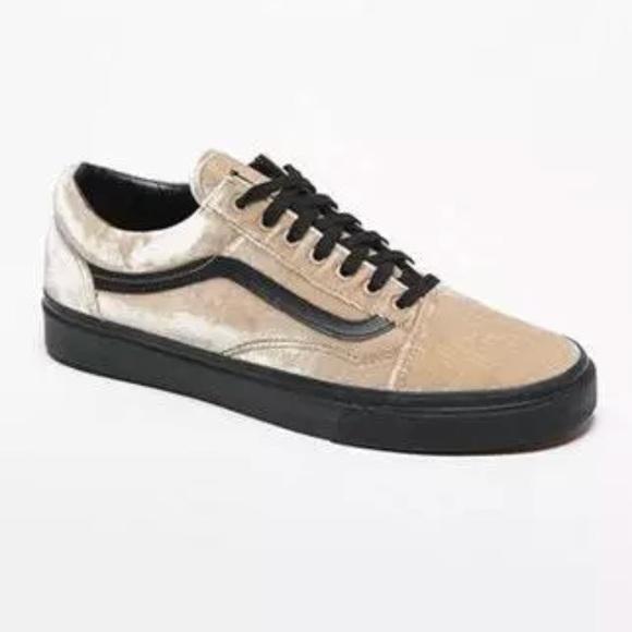 b149c21ccc Old skool( velvet tan black shoes 9.5 woman. NWT. Vans